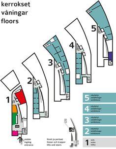 Kiasma - Museum of contemporary art - Floor plan