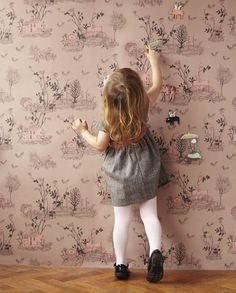 Magnetic Playground Wallpaper by Sian Zeng