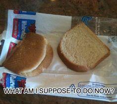 Looks like half a sandwich!