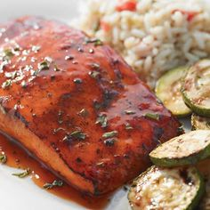 HICKORY BOURBON SALMON Ruby Tuesday Copycat