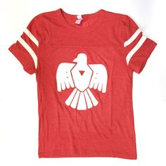 This thunderbird design is the perfect statement tee for your wardrobe for an edgy