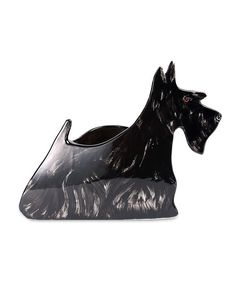 Frankie Scottish Terrier Planter
