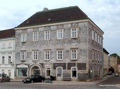 Scraffitohaus in Retz, Austria