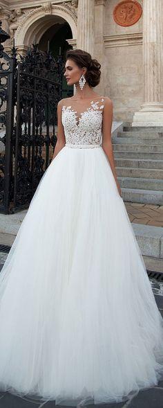 Milla Nova 2016 Bridal Wedding Dresses / http://www.deerpearlflowers.com/milla-nova-wedding-dresses/4/