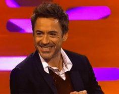 Robert Downey Jr's cute laugh