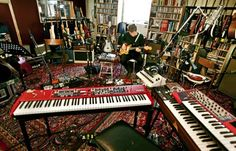 The Wilco music loft in Chicago. Holy crap.