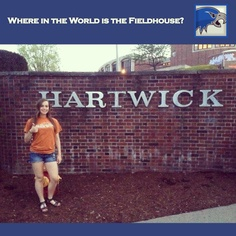 Where in the world is the Fieldhouse? Finishing the semester at Hartwick College! Thanks Janelle. See you soon for some pickup soccer.