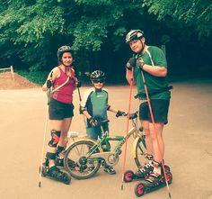 Dzisiejszy rodzinny wypad rolkowo rowerowy :-)
