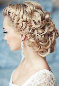 Wedding Hairstyles 2015 for Bride - Hairstyles 2015 for Bride, Wedding Hairstyles 2015 Used in a Cinderella wedding inspiration blog by Kasper Creations: http://kasper-creations.com/disney-themed-wedding-2-cinderella/