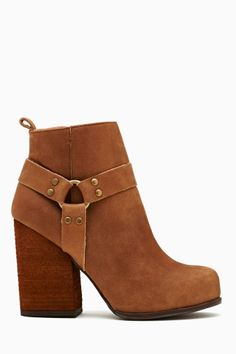 Rum Moto Boot - Brown