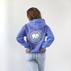 Our Cobblestone Hoodies are perfect to throw on over your favorite long sleeve! Pigment-dyed for a natural vibe, this garment is designed to fade, adding character overtime. - Screen-printed in Americ