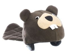 Beaver Helmet Cover (Child) Child by Tail Wags - Ships in Canada Only