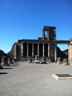 Forum, Pompei, Italy Pompei Italy, Secret Places, Marina Bay Sands, Building, Travel, Viajes, Buildings, Trips, Traveling