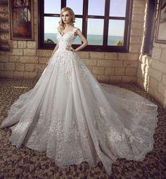 Vestido de noiva corte princesa: Tendência moda 2017 -Portal Tudo Aqui