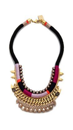 Mega watt necklace: Lizzie Fortunato Shibuya Crossing