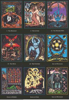 Tarot Of The Spirit World There are lots of examples