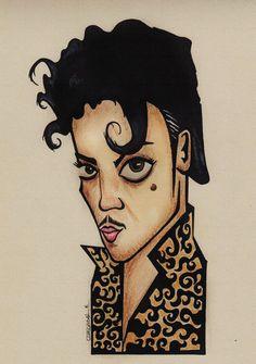 Prince Portrait Caricature