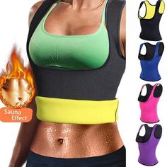 175c95f786c56 Miss Moly Hot Shapers Sauna Sweat Neoprene Body Shaper Women Slimming  Thermo Push Up Vest Waist Trainer Cincher Corset  USPS