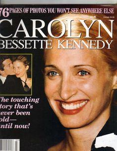 Carolyn Bessette John F Kennedy Jr Memorial Magazine 1999 76PGS RARE   eBay