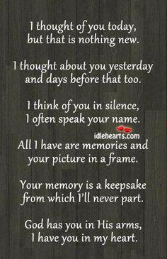 Missing someone..