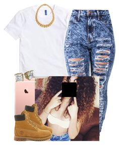 TTD Performance-Ariana by newtrillvibes on Polyvore featuring polyvore, fashion, style, Timberland and clothing
