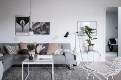 Un appartement familial sous les toits en Suède - PLANETE DECO a homes world