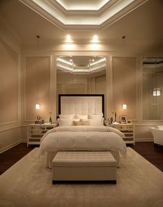 Perfection...what a beautiful bedroom!