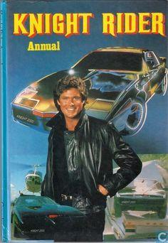 KNIGHT RIDER ANNUAL 1982 HARDCOVER STORYBOOK DAVID HASSELHOFF & K.I.T.T. | eBay
