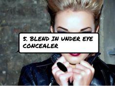 5. #Blend in under Eye Concealer