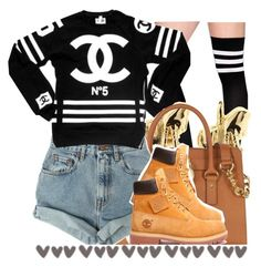"""""""."""" by trillest-queen ❤ liked on Polyvore featuring Han Cholo, Michael Kors and Levi's"""