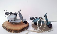 Μπομπονιέρες για αγόρι : Μπομπονιέρα μεταλλινές μηχανές vintage 82.5