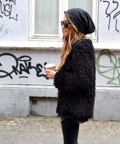 furry coat -  Fuzzy shopping is alive and well on Pinterest. Compare prices for this @ Wrhel.com before you commit to buy. #Wrhel #Fashion #Fuzzy