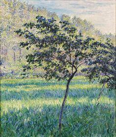 Gustave Caillebotte (French, 1848-1894), Paysage en Normandie, Pommier dans un vallon boisé, c. 1880. Oil on canvas, 73 x 60 cm.