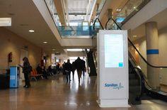Totems Colección Eco para Hospital de La Moraleja Sanitas, Madrid