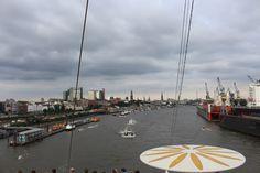 4 Freizeiten Aida Aidasol Ausfahrt Hamburg Hafen Hafencity Landungsbrücken