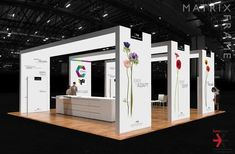 custom modular exhibition multi-archway structure booth island island design solution, featuring graphic illumination, seamless and portable . Trade Show Design, Display Design, Display Ideas, Exhibition Stall, Exhibition Stand Design, Pharmacy Design, Retail Design, Kiosk, Retail Signage