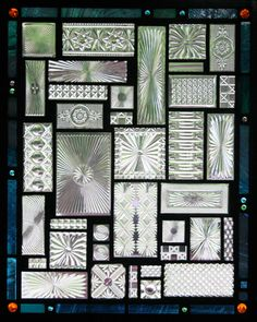 Daniel Maher Stained Glass - Prismatic Rectangles