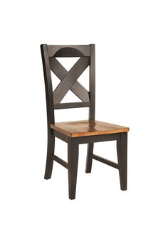 Country Marketplace - Chatham X Back Side Chair, $219.00 (http://www.countrymarketplaces.com/chatham-x-back-side-chair/)