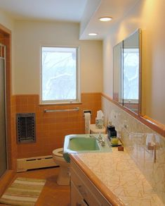 Spectacular Mosaic Tile Company Decorative Tiles In Roger And Lynsey S 1953 Bathrooms