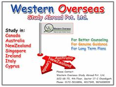 Western Overseas is the consultant of study visa. We deal in study abroad, study visa for Australia, New Zealand and Canada.