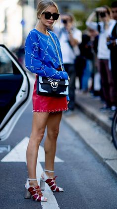 50 FASHION WEEK Street Style Looks • IN FASHION daily