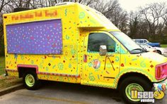 Used GMC Savana Cutaway Food Truck in Tennessee for Sale Ice Car, Ice Truck, Food Vans, Concession Trailer, Snow Cones, Food Trucks, Bubble Tea, Lemonade, Hot Dogs