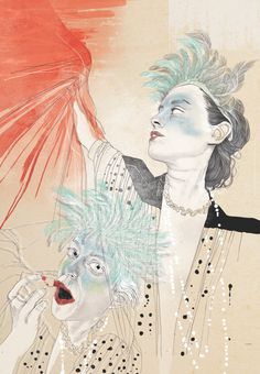 """My Friend Laia"" Illustration by: Sarah Egbert Eiersholt"