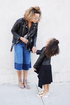 Mom and mini fashionista
