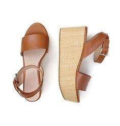 Platform sandal.