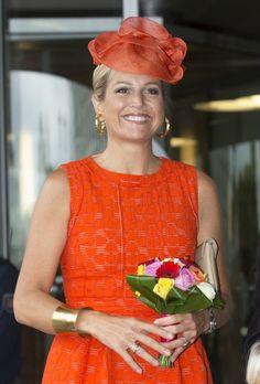 MYROYALS  FASHİON: Queen Maxima opens Orion University Wageningen