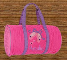 Personalized Stephen Joseph Quilted Duffel by WhitePelicanGifts