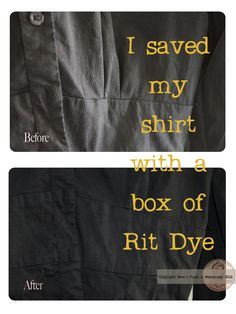 How to Dye Clothes Black With Rit in a Washing Machine | Washing ...