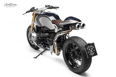 RnineT with a custom exhaust