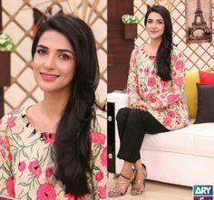 """Beautiful Rabab Hashim in """"Salam Zindagi """". #Beautiful #Lovely #Cutest #Pretty #RababHashim #PakistaniActresses ✨"""